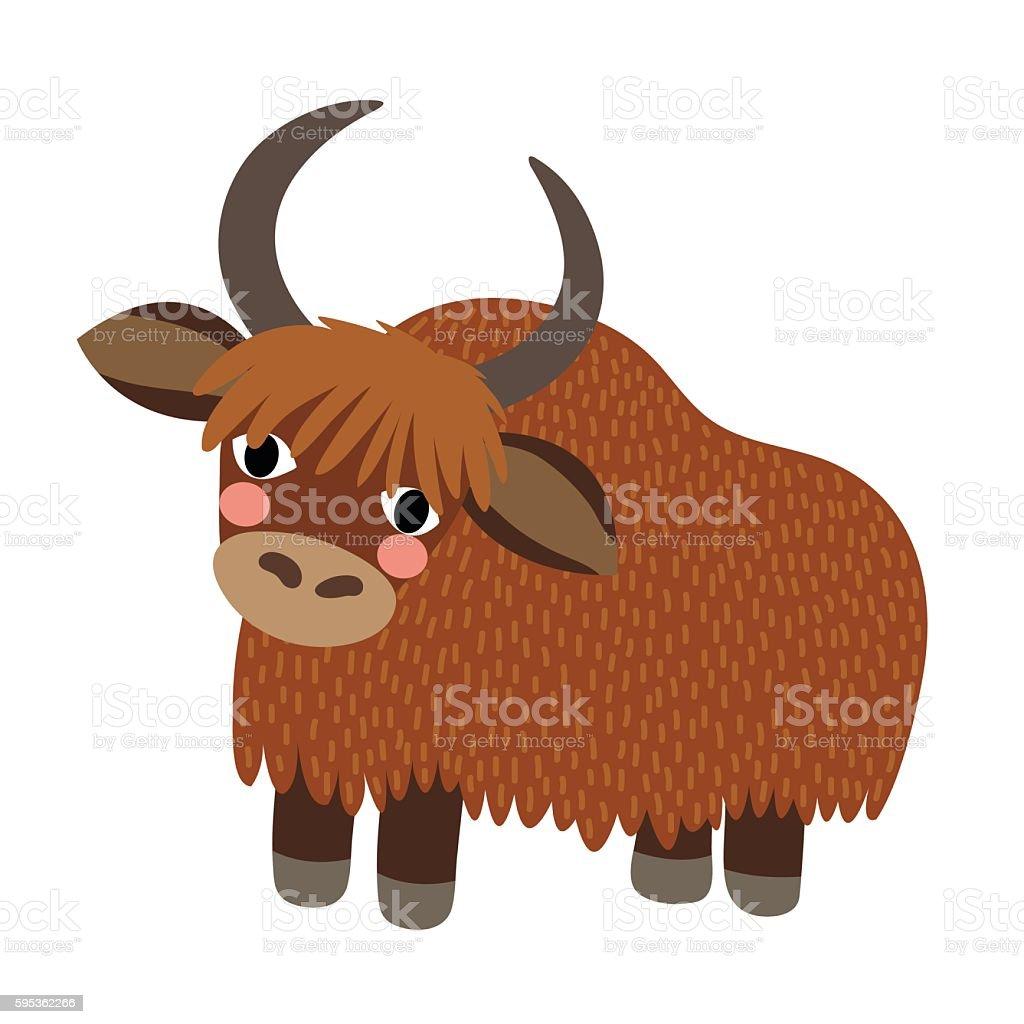royalty free yak clip art vector images illustrations istock rh istockphoto com Yak Animal yak clipart free