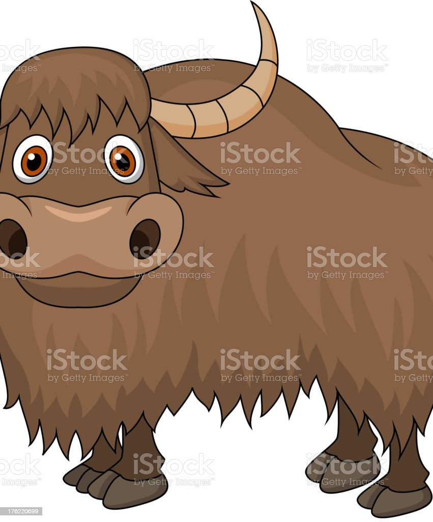 royalty free yak clip art vector images illustrations istock rh istockphoto com Yak Animal cute yak clipart