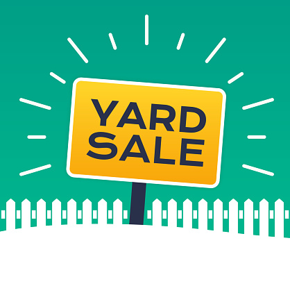 Yard Sale Sign