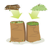 yard waste bags recycled