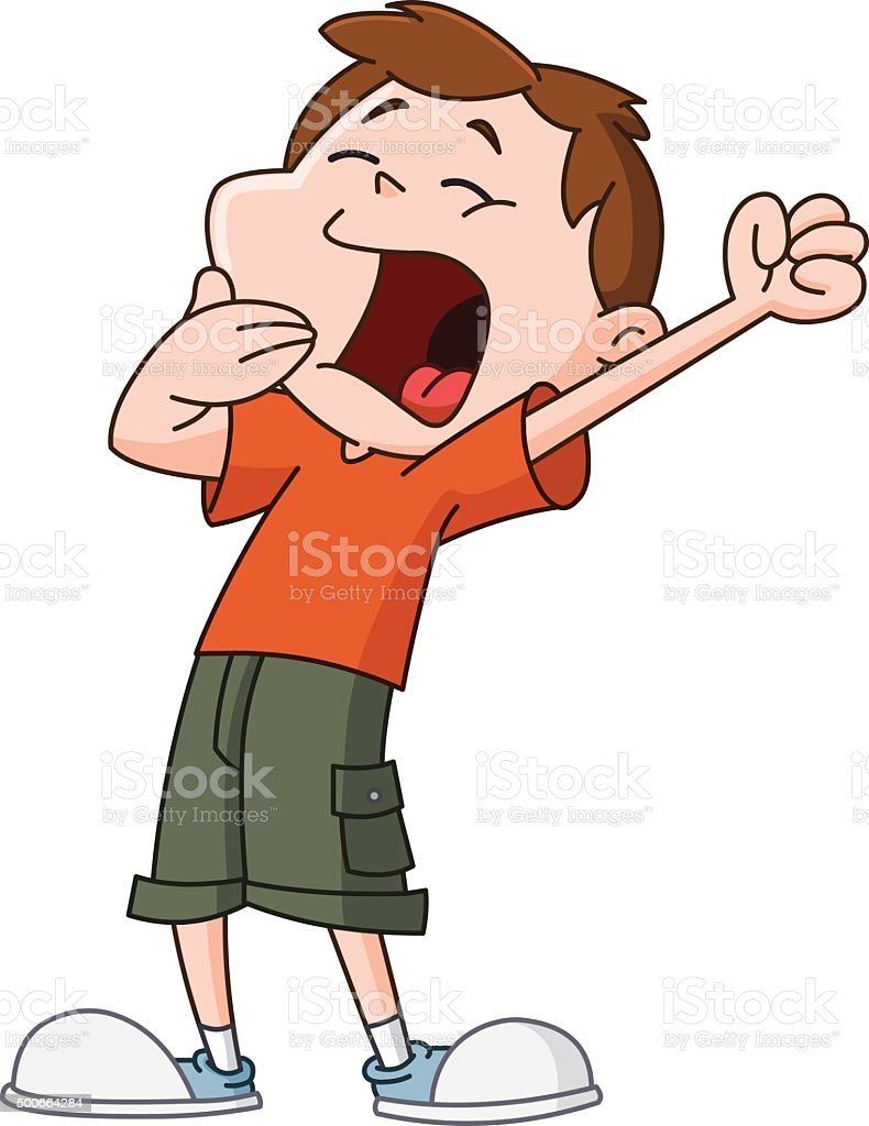 royalty free child yawning clip art vector images illustrations rh istockphoto com yawn clipart yawning clipart