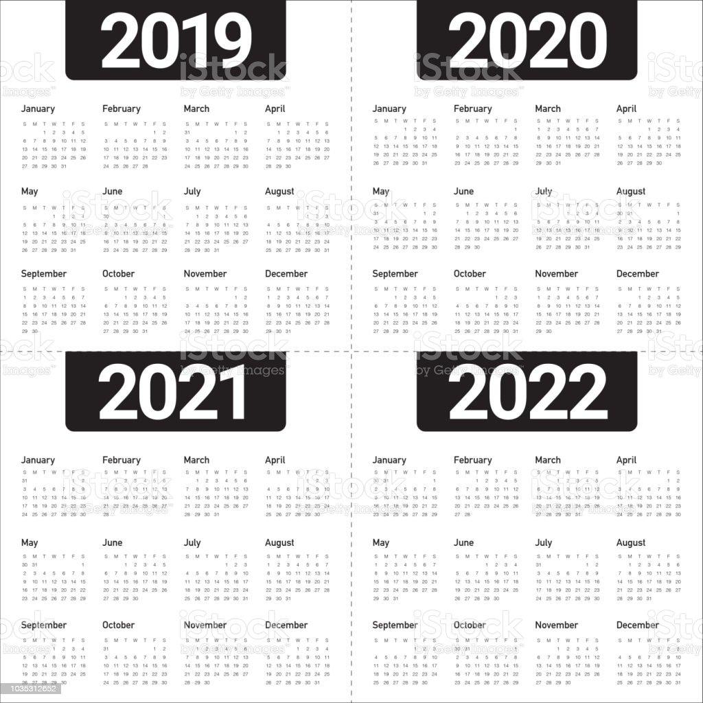 Calendrier Ramadan 2020.Modele De Conception Annee 2019 2020 2021 2022 Calendrier