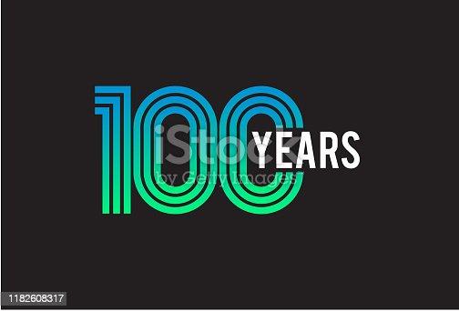 100 Year anniversary design
