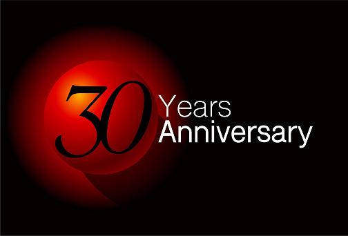 30 Year anniversary design