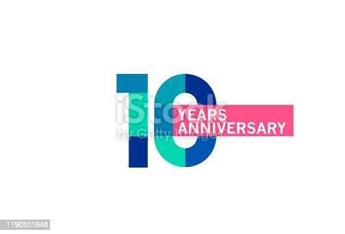 istock 10 Year Anniversary 1190551648
