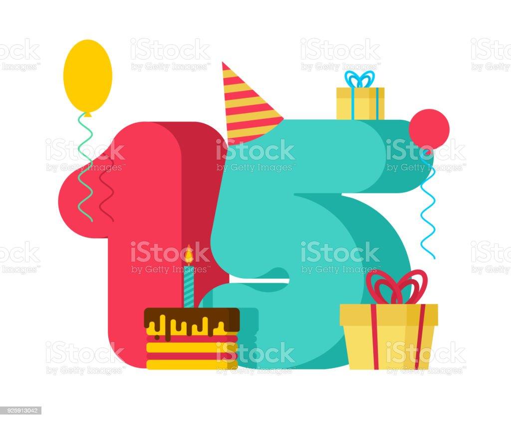 Muestra Cumpleaños De 15 Años 15 Plantilla Tarjeta De Felicitación ...