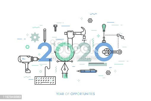 istock 2020 Year of Opportunities Concept 1192949383