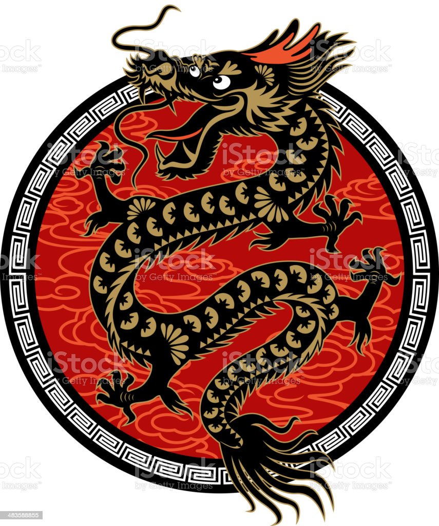Year of the Dragon Symbol royalty-free year of the dragon symbol stock vector art & more images of ancient