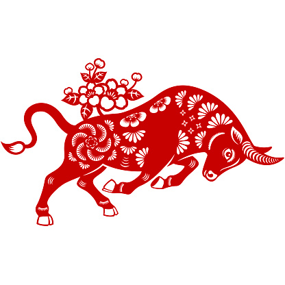 Year of the Ox Papercut
