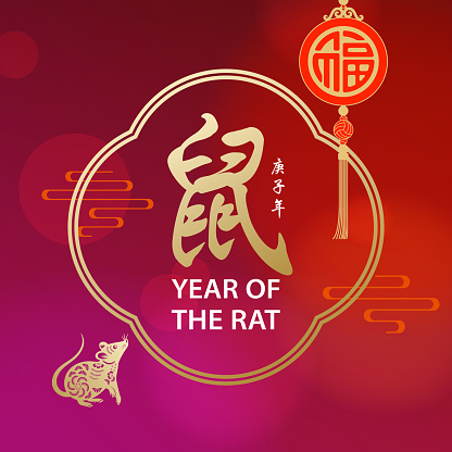 Year of the Rat Frame