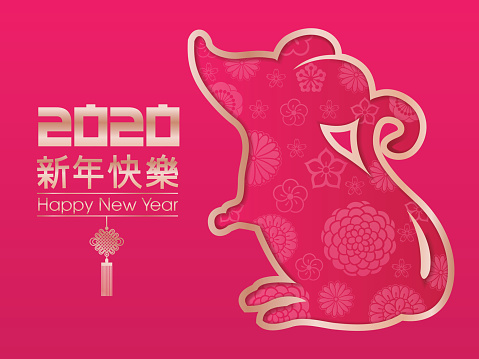 Year of the Rat, 2020, Happy New Year, Chinese New Year