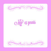 istock 15 years anniversary invitation card swirl floral decoration vector 1293929416
