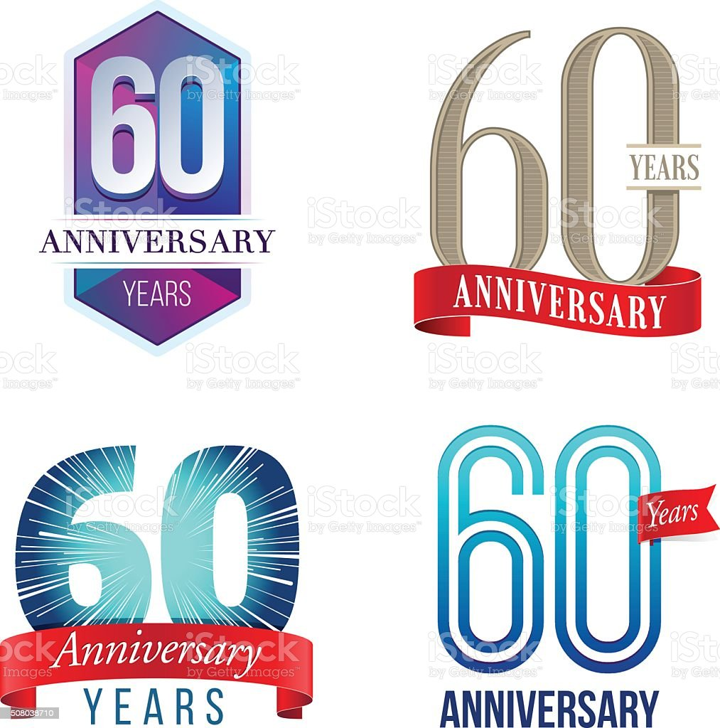 60 years anniversary logo stock vector art more images of 60 64 60 years anniversary logo royalty free 60 years anniversary logo stock vector art amp altavistaventures Image collections