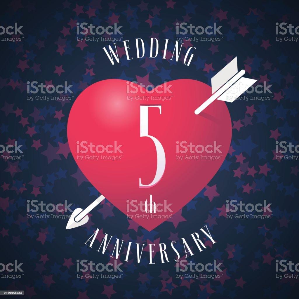 5 jahre verheiratet