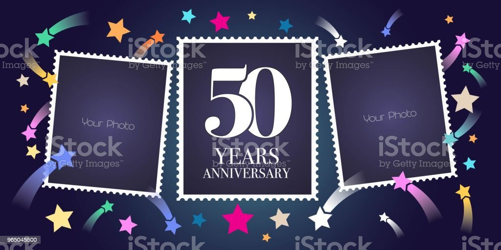 50 years anniversary vector emblem royalty-free 50 years anniversary vector emblem stock vector art & more images of anniversary