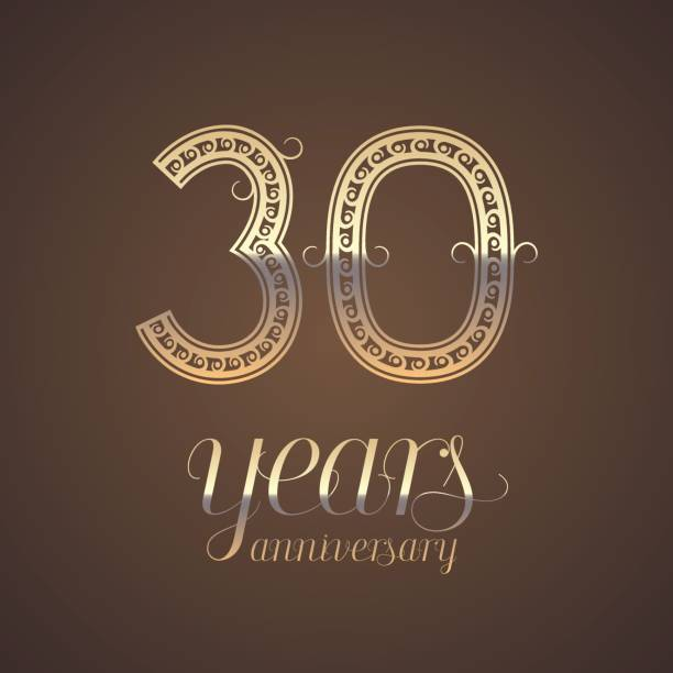 30 Year Anniversary Symbol: Royalty Free 30th Birthday Clip Art, Vector Images