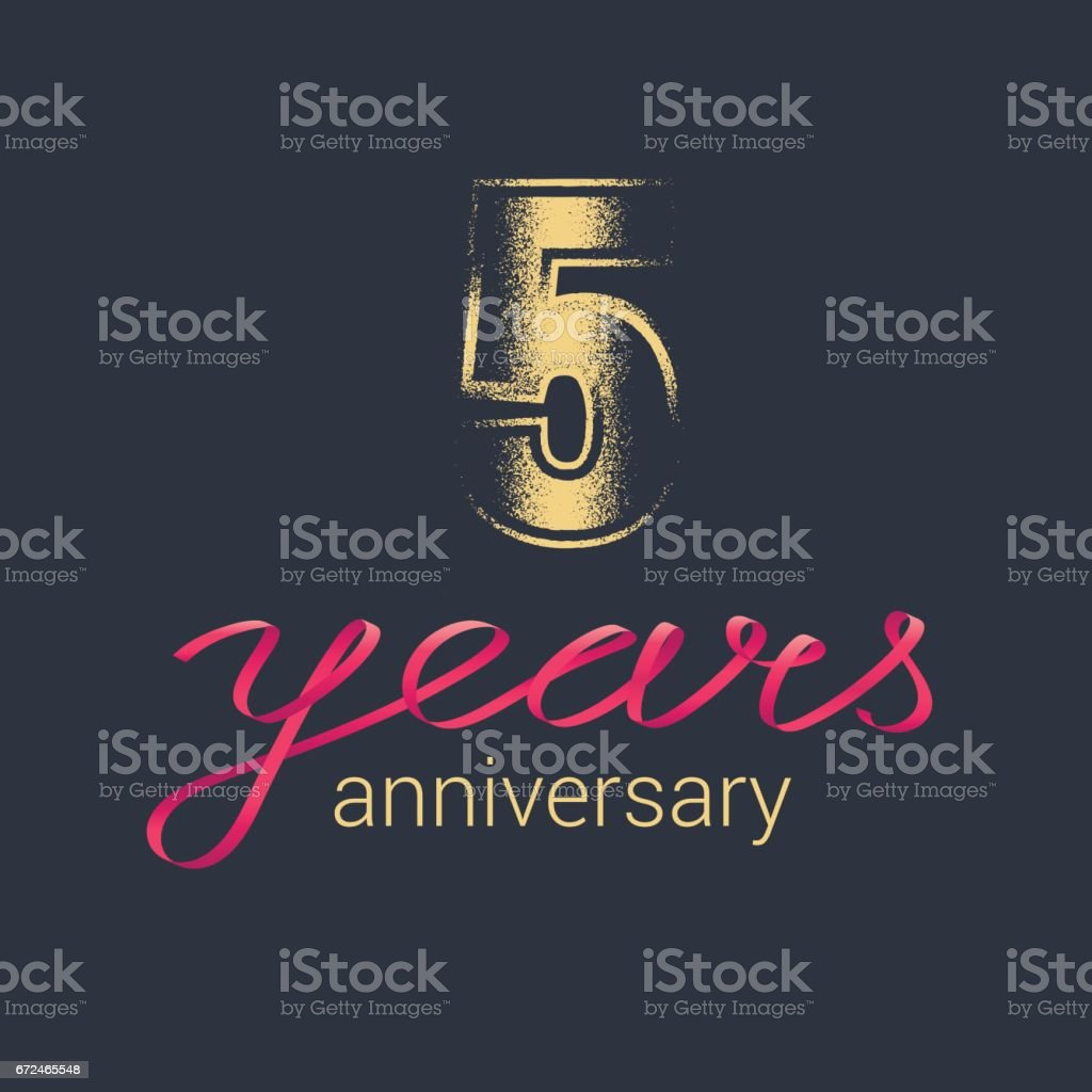 5 years anniversary vector icon stock vector art more images of 5 years anniversary vector icon royalty free 5 years anniversary vector icon stock vector art biocorpaavc Gallery