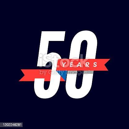 istock 50 Years Anniversary 1202246281