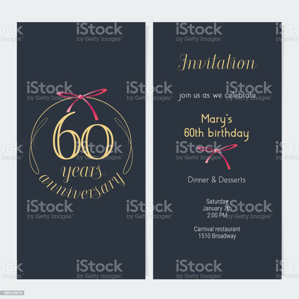 60 years anniversary vector illustration royalty-free 60 years anniversary vector illustration stock vector art & more images of anniversary