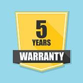 5 years warranty shield