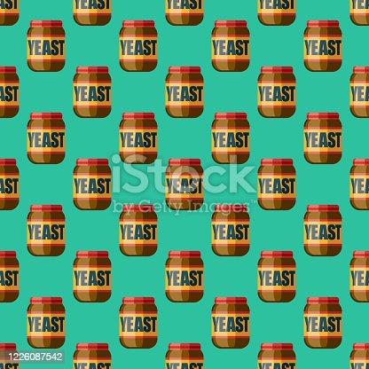 istock Yeast Pattern 1226087542