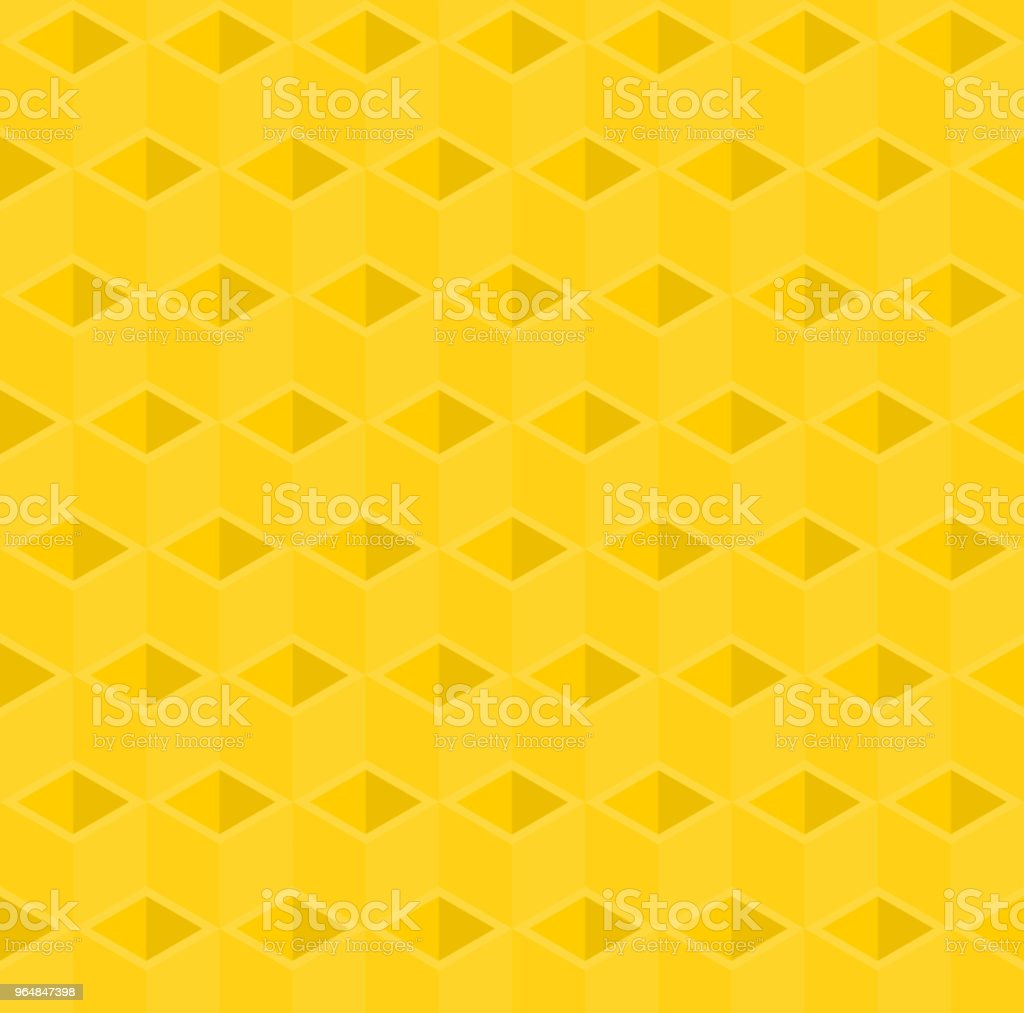Yellow 3D cube illustration background. royalty-free yellow 3d cube illustration background stock vector art & more images of abstract