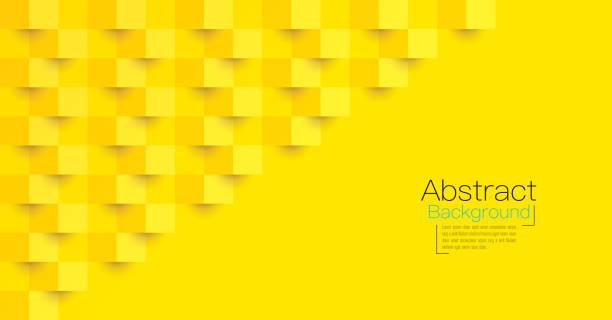 bildbanksillustrationer, clip art samt tecknat material och ikoner med gul abstrakt bakgrunds vektor. - gul bakgrund