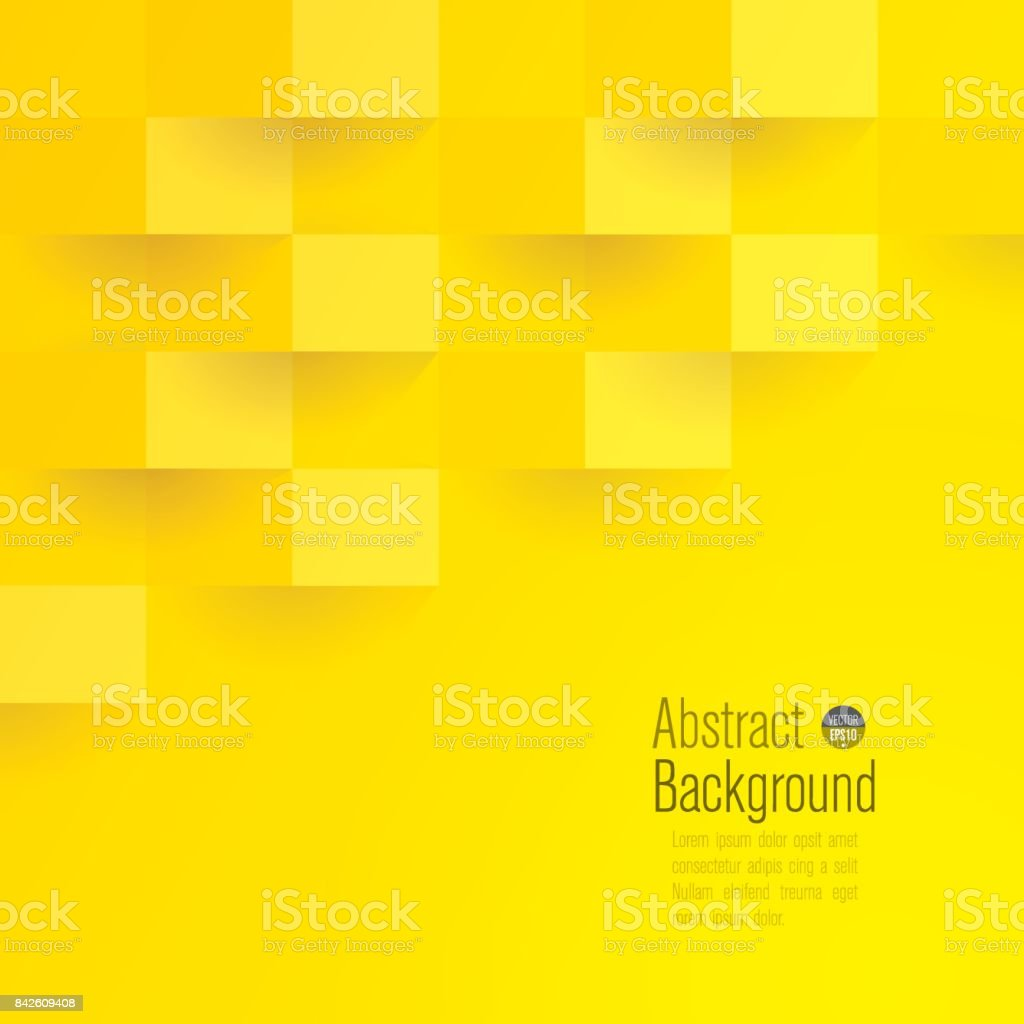Yellow abstract background vector. vector art illustration