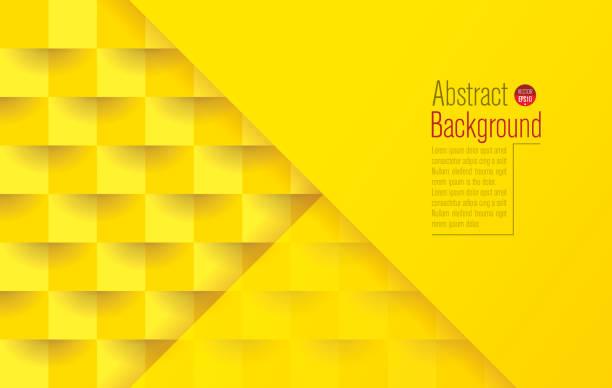 bildbanksillustrationer, clip art samt tecknat material och ikoner med gul abstrakt bakgrund vektor. - gul bakgrund