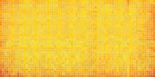 Yellow abstract mosaic background