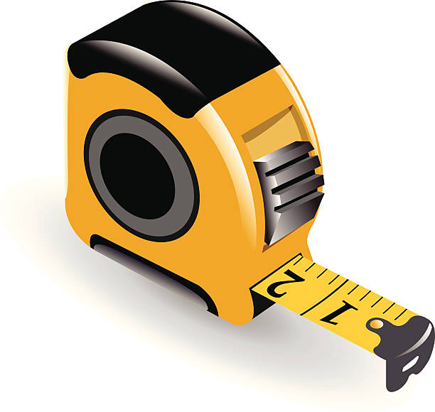 Best Tape Measure Illustrations, Royalty-Free Vector ...