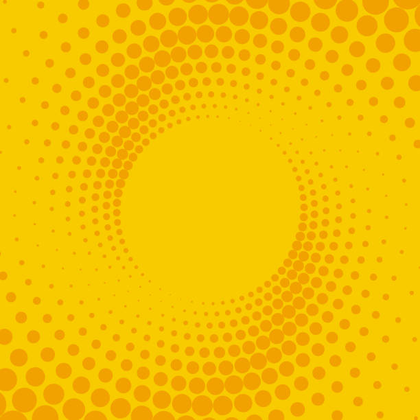 yellow and orange background - autorytet stock illustrations