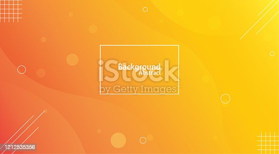 istock Yellow and orange unusual background with subtle rays of light 1212535356