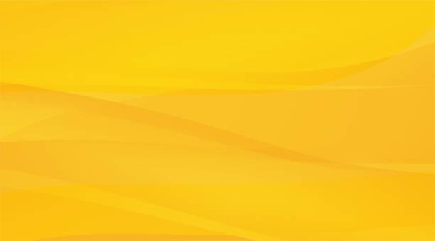 빛의 미묘한 광선 노란색과 주황색 특이한 배경 - 노랑 stock illustrations