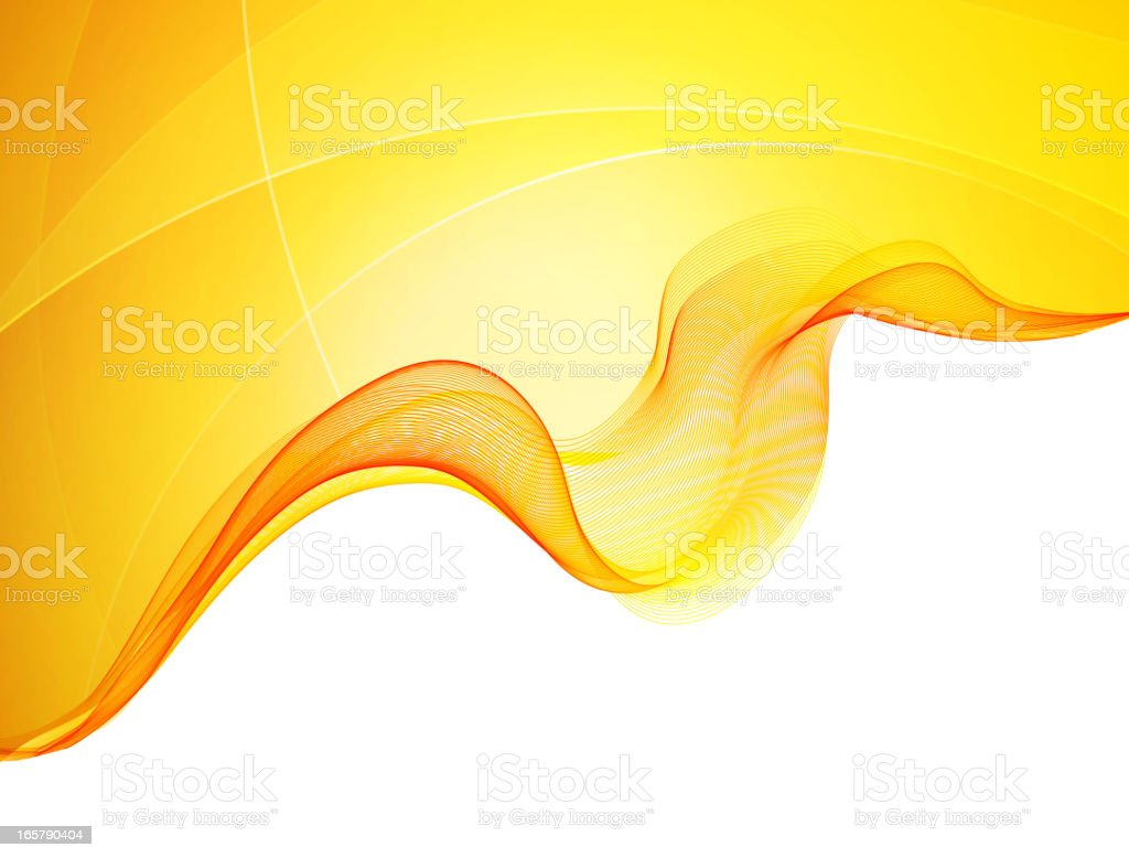 Yellow and orange wavy background royalty-free yellow and orange wavy background stock vector art & more images of abstract