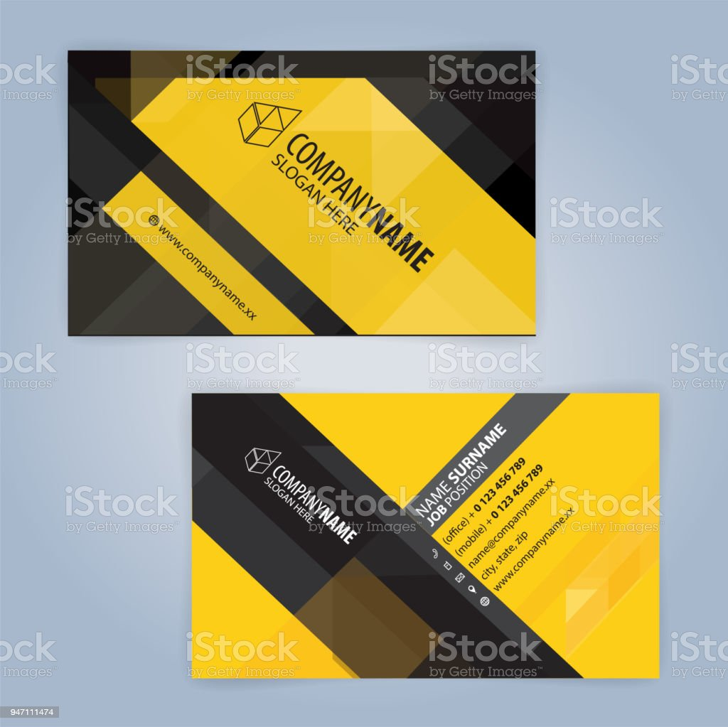 Yellow and white modern business card template illustration vector yellow and white modern business card template illustration vector 10 royalty free yellow and cheaphphosting Image collections