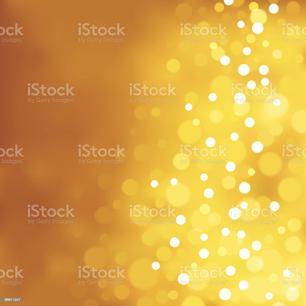 Yellow blurry lights. EPS8 - Royalty-free Backgrounds stock vector