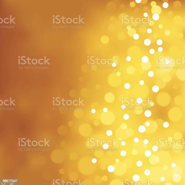 Желтый Размытые Огни Eps8 — стоковая векторная графика и другие изображения на тему Без людей