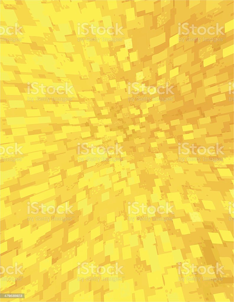 Yellow Brick Hole - 3 credits vector art illustration