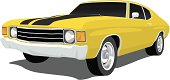 Yellow Chevelle SS
