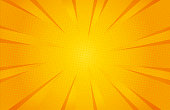 Yellow colour abstract speed explosion comic background. Vector