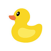 istock Yellow duck icon 1127302688
