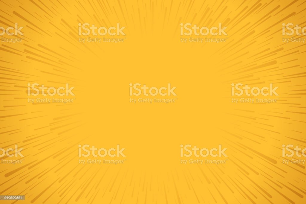 Yellow Explosion Background vector art illustration