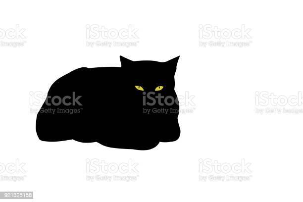 Yellow eyed black cat illustration vector id921325158?b=1&k=6&m=921325158&s=612x612&h=grqqsg5tbm3r2u2qoyc63xkxlu fcfwnmhfxqda4ed0=
