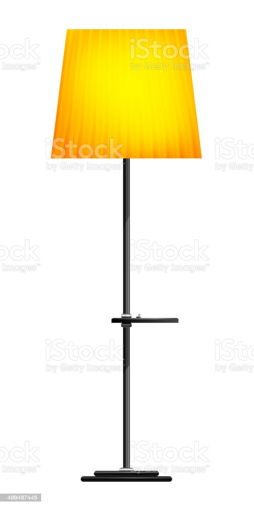 Stehlampe clipart  Floor Lamp Clip Art, Vector Images & Illustrations - iStock