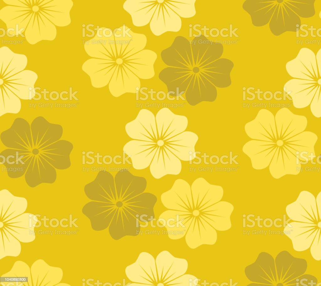 yellow flower blossom floral decorative seamless pattern stock illustration download image now istock yellow flower blossom floral decorative seamless pattern stock illustration download image now istock
