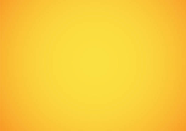옐로우 그라데이션 추상적인 배경 - 노랑 stock illustrations