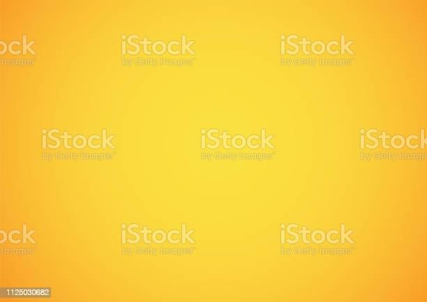 Yellow Gradient Abstract Background - Arte vetorial de stock e mais imagens de Abstrato