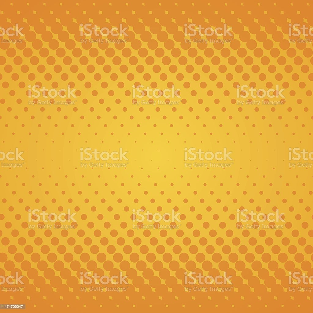 Yellow Gradient Texture vector art illustration
