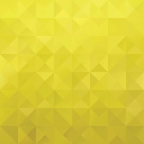 Yellow Grid Mosaic Background, Creative Design Templates vector art illustration